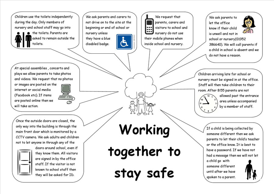 Click on the image to download a copy of our 'Staying Safe' flyer