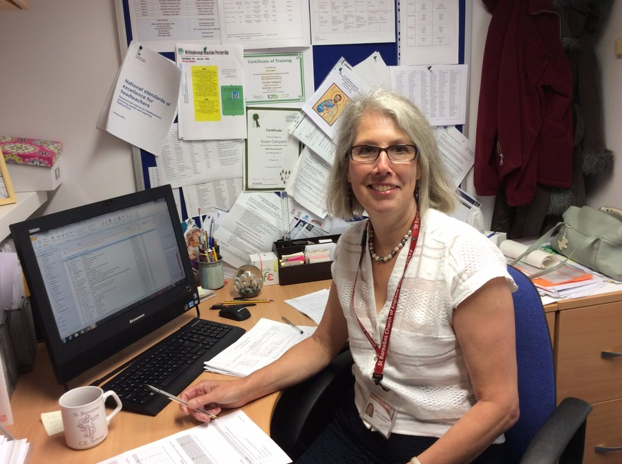 Mrs Sue Campbell BA (Hons) NPQH- Executive Headteacher