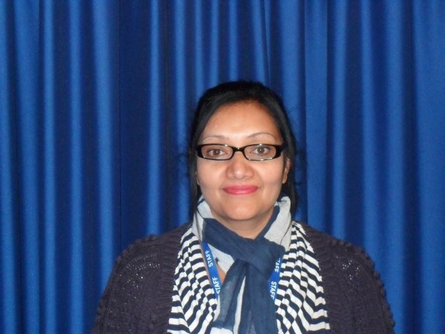 Mrs S Haseen-Khan - Teacher