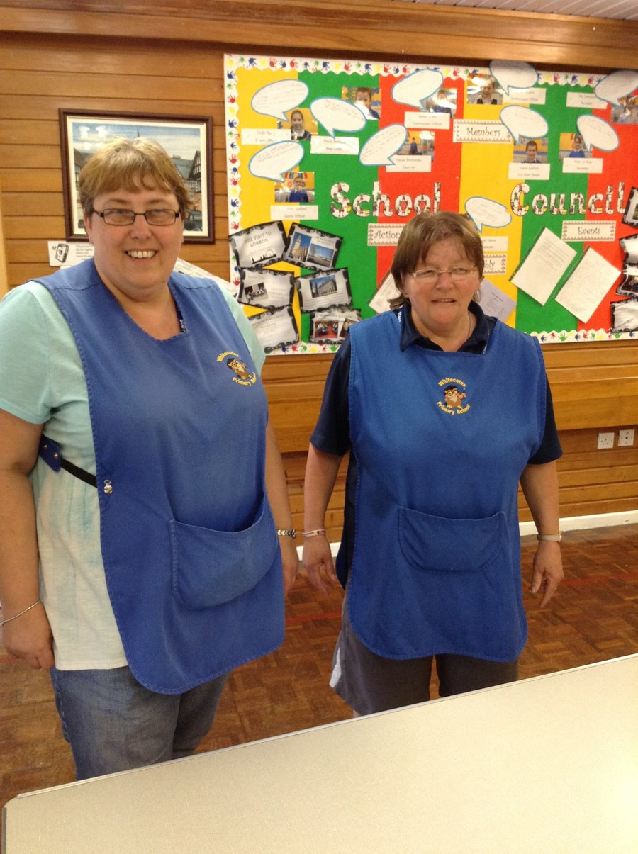Mrs T Hardy & Mrs C Wilson - Midday Supervisors