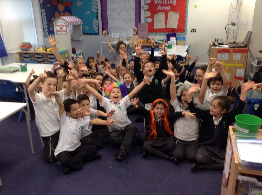 Wacky Hair Day and Children In Need November 2015