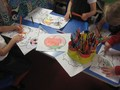 We coloured in lots of Spanish related drawings.
