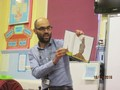 One of our parents came in at hometime and read a funny book in Spanish and English. <br>