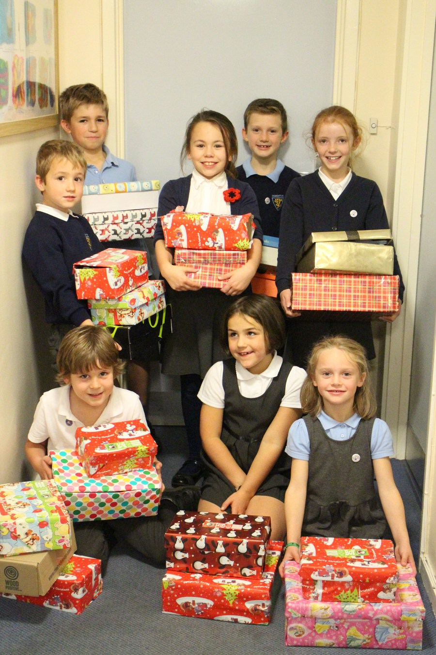 Shoebox Appeal for Operation Christmas Child