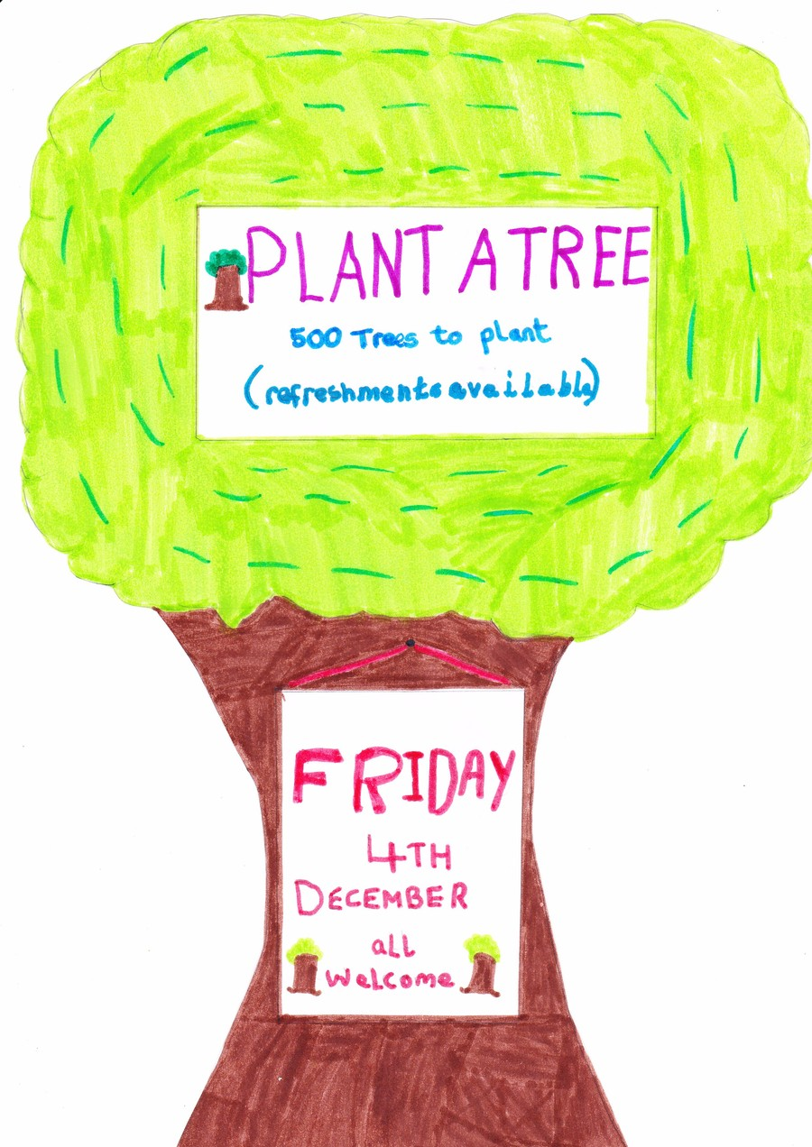 Poster by Oliver Yr 4