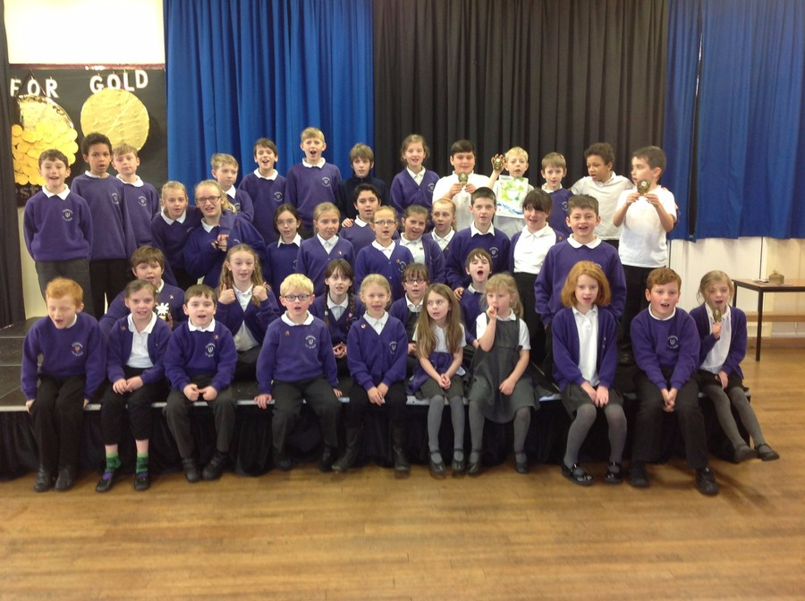 Gold Medal Winners and Hotshot Tournament Teams 26th November