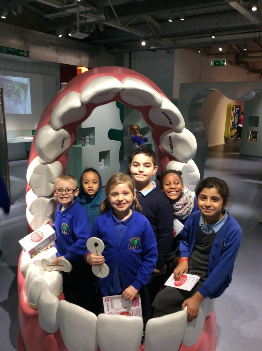The children enjoyed the trip to Eureka where they explored the digestive system!