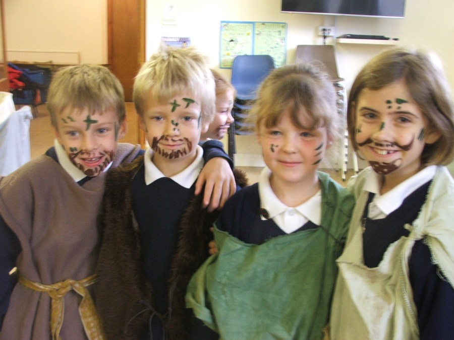 St Peter S Church Of England Primary School Stone Age Day