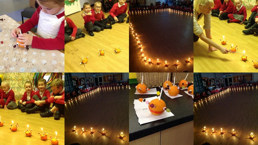 Our Christingle Service 16th December 2015