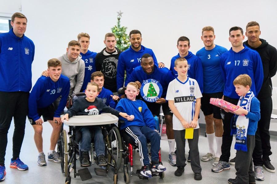 Bury FC Visit