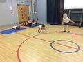 Yr 4 keeping fit in our circuit training