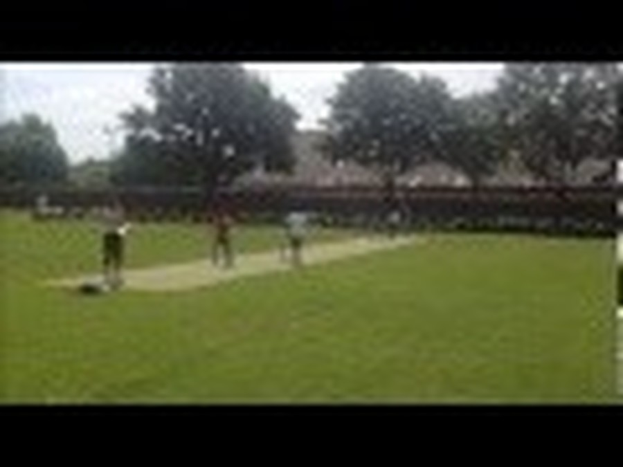 Cricket exhibition match