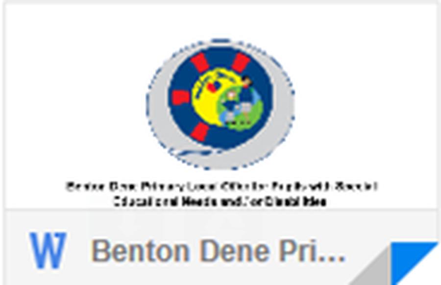 Benton Dene Primary School Assessment Results 2016-2017