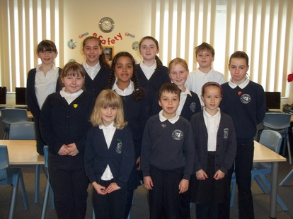 Cawthorne School Council 2012 - 2013