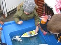 Water play and story making