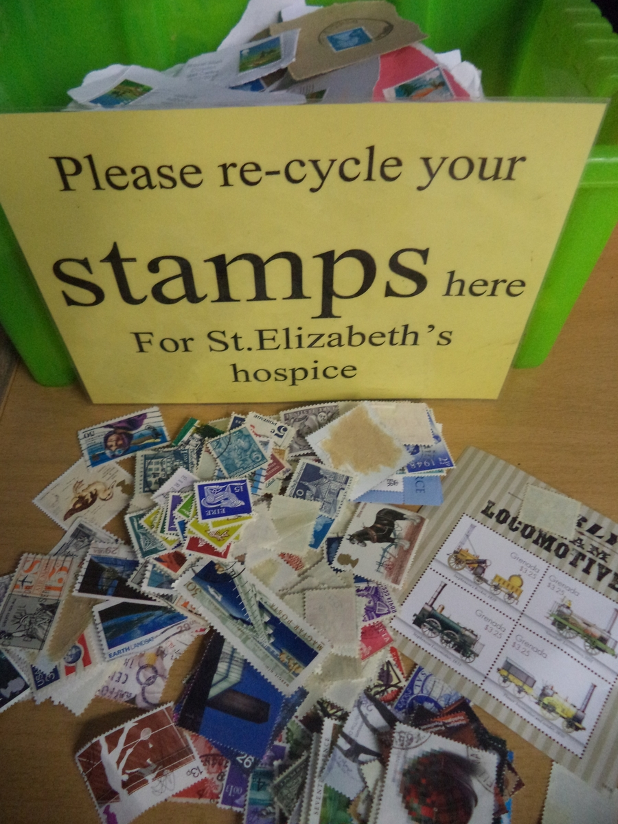 Stamp Collecting - all donations welcome