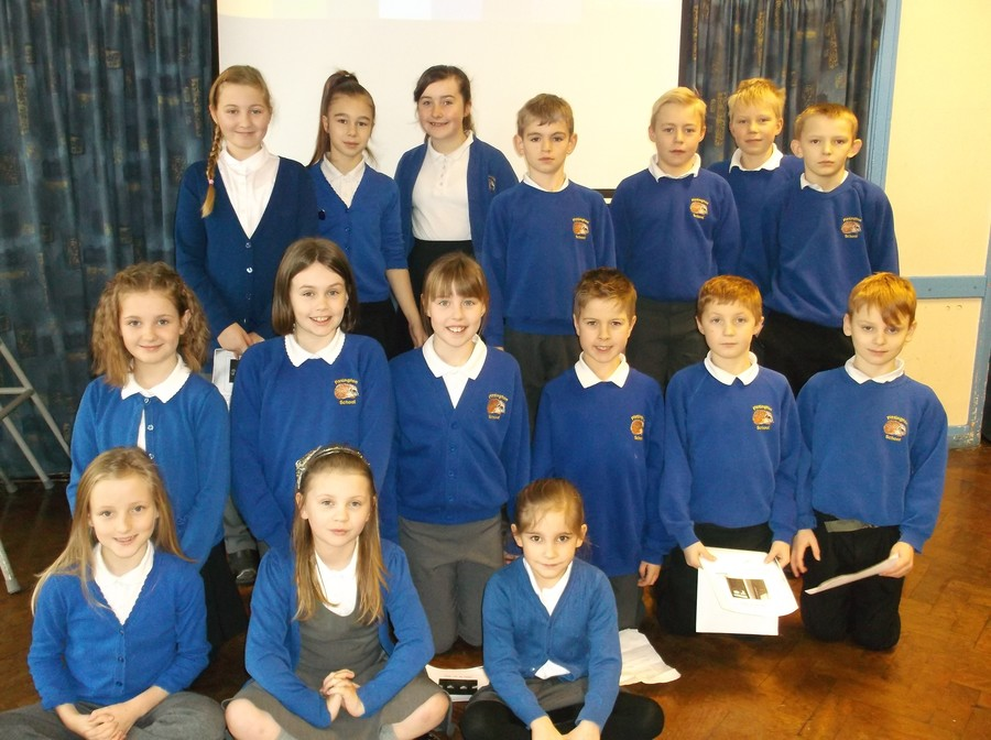 Mrs Keable and the Pittington Power Savers have been working towards saving energy in school. Every day we monitor electricity usage in school and keep a record. Each class is awarded a colour coded assessment. Recently in January 2016: We have just presented an assembly on saving energy