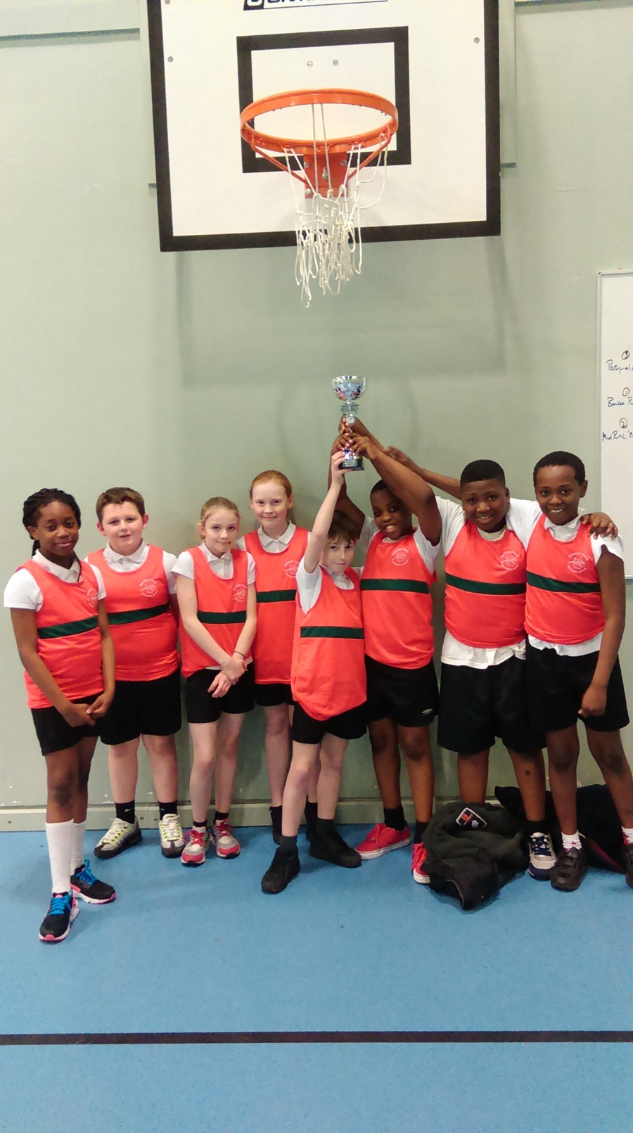 Congratulations to our basketball team on winning the St Annes cup