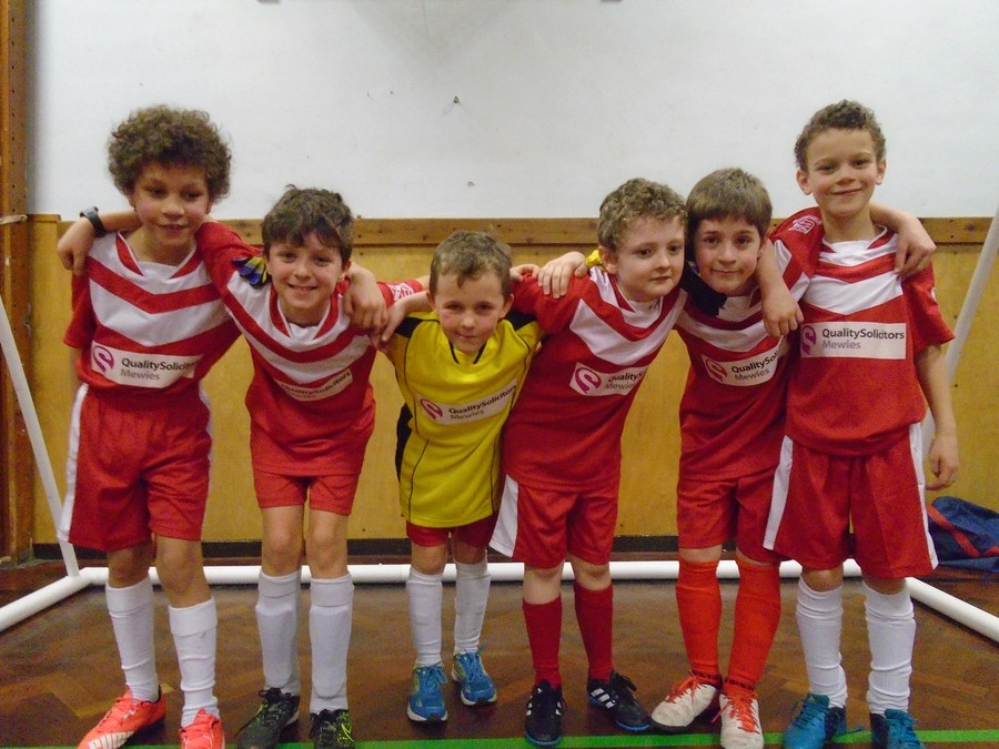 Year 5 Futsal team Jan 2016