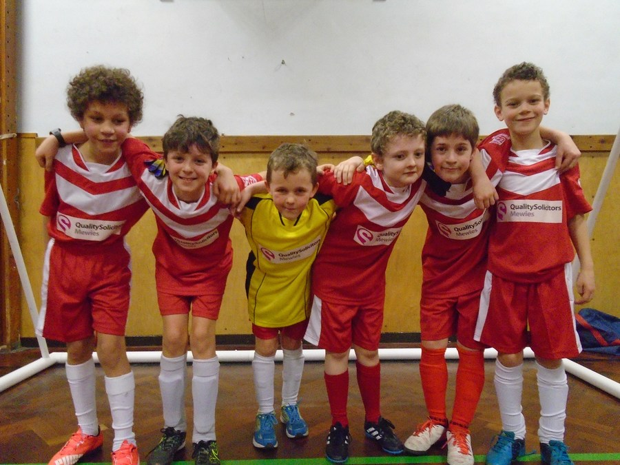 Year 5 Futsal team Jan 2016