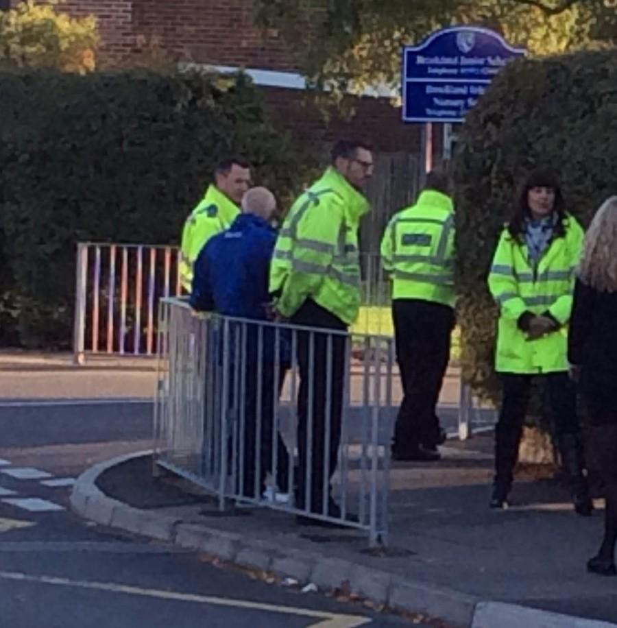 Our Pupil Parking Patrol helps ensure parents are parking safely