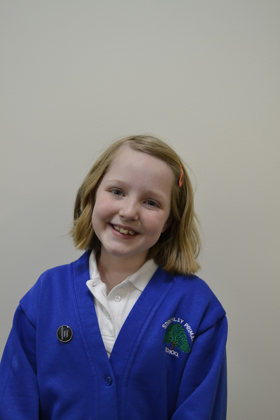 Well done Poppy-Jo!