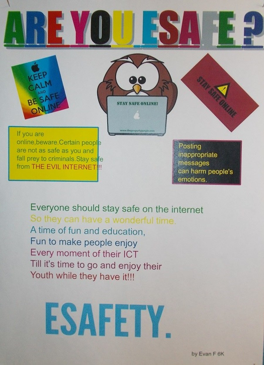 E safety poster designs - Here Are Some Examples Of Our Esafety Posters Made During Safer Internet Day 2016