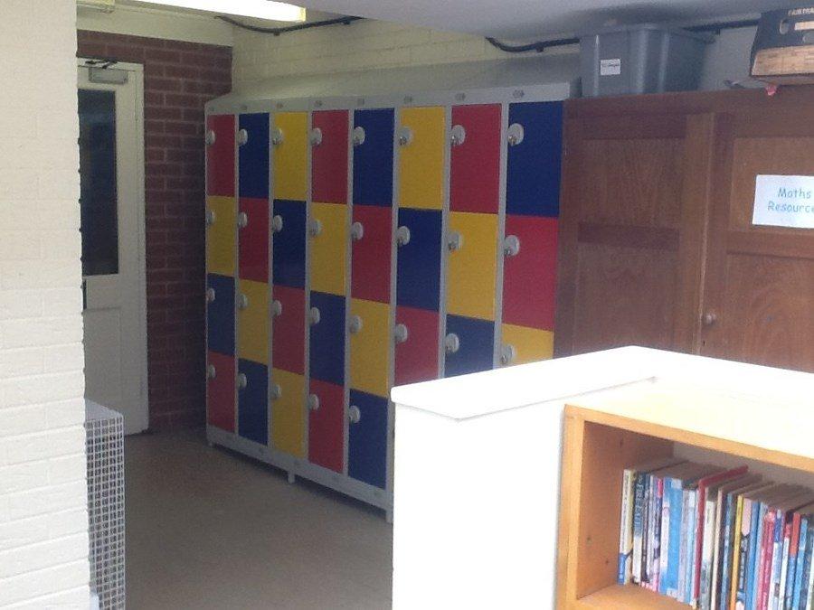New Class 4 Lockers looking very smart!
