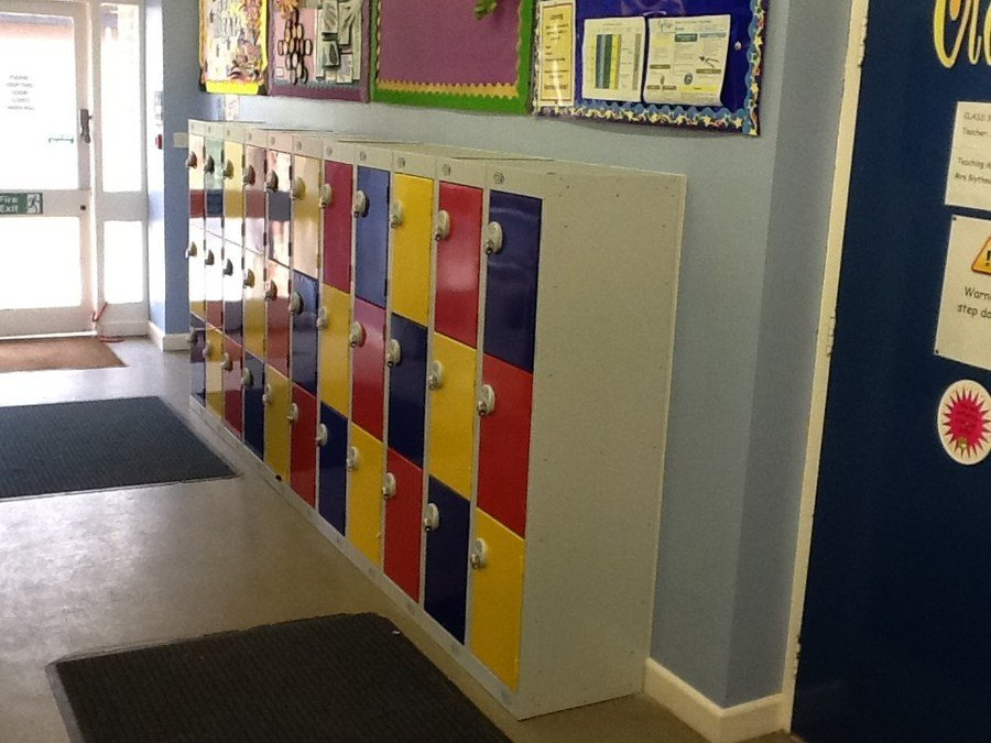 New Class 3 Lockers, also looking very smart!