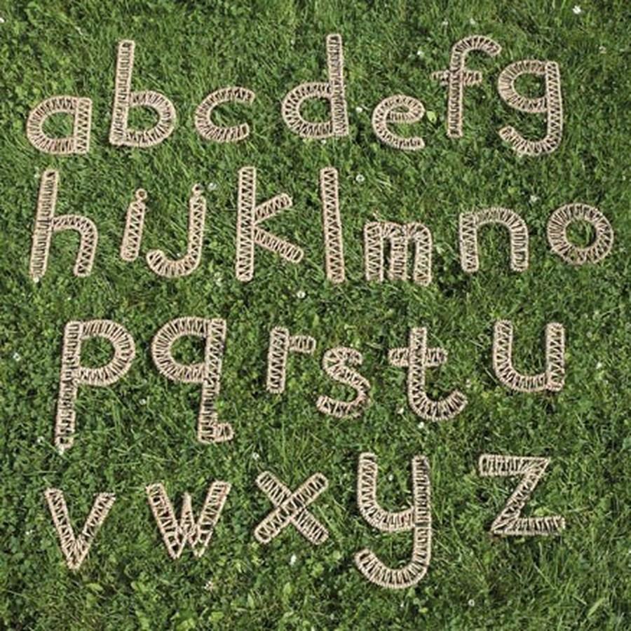 Weaving letters £39.95