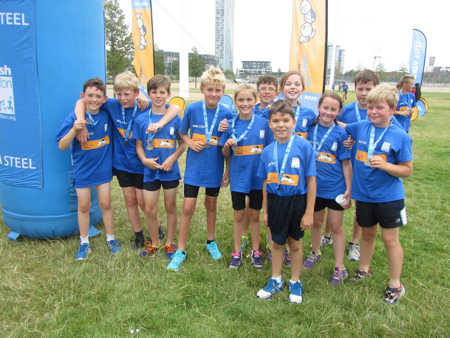 Running Club completes the TATA Kids of Steel Triathlon at the Olympic Park!