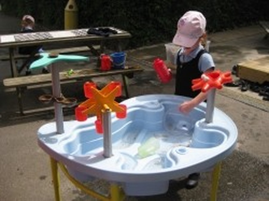 ..this fun and educational water table - plus much more!