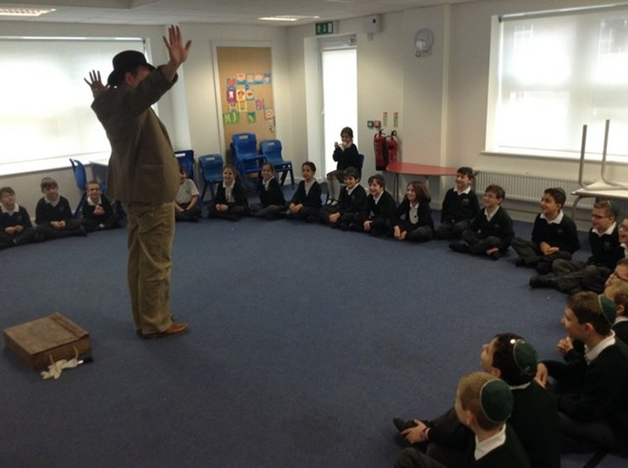 Year 3 and 4's History Workshop