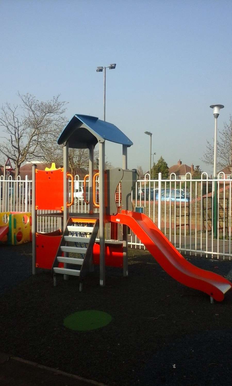 Our lovely new climbing frame