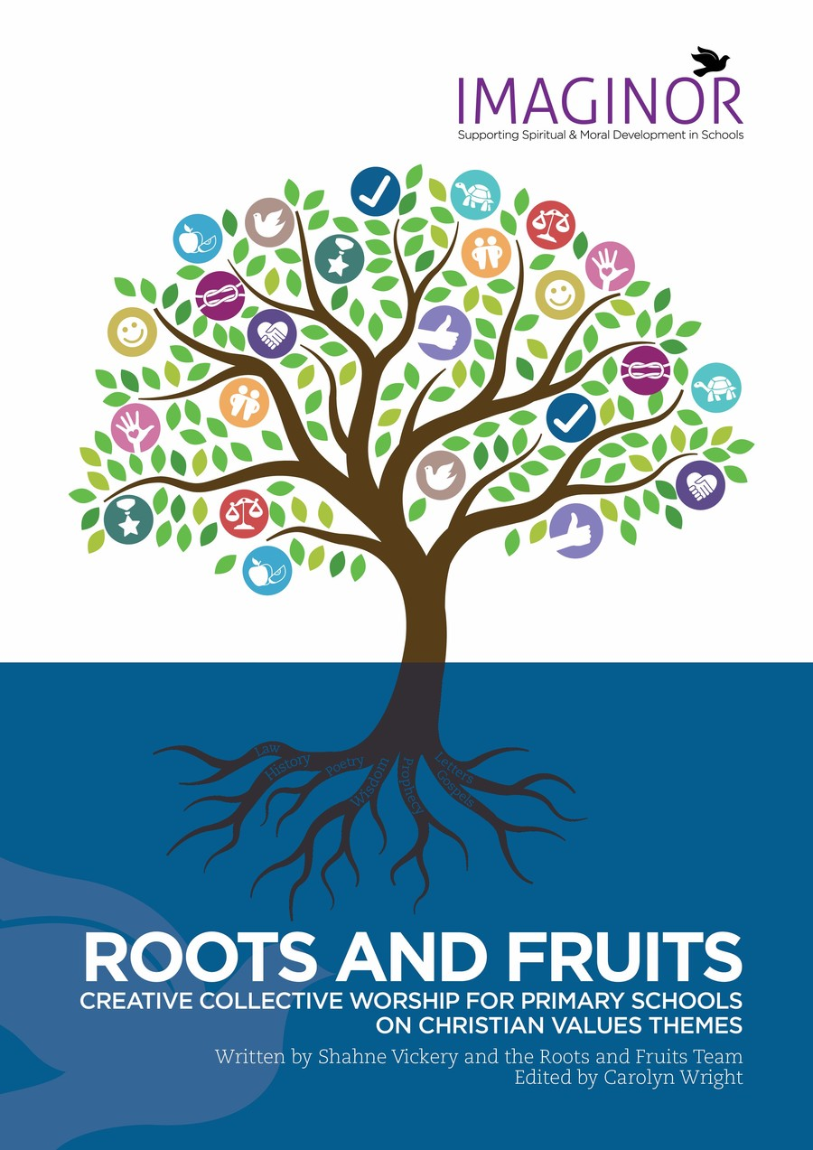 We follow the Roots and Fruits scheme for our collective worship