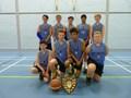 <p>Year 8 Boys Basket Ball District Champions</p>