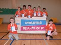 Year 8 Boys    Indoor Athletics County Champions<br>