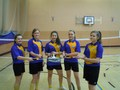 <p>Year 8 Girls Badminton Semi Finalists </p>