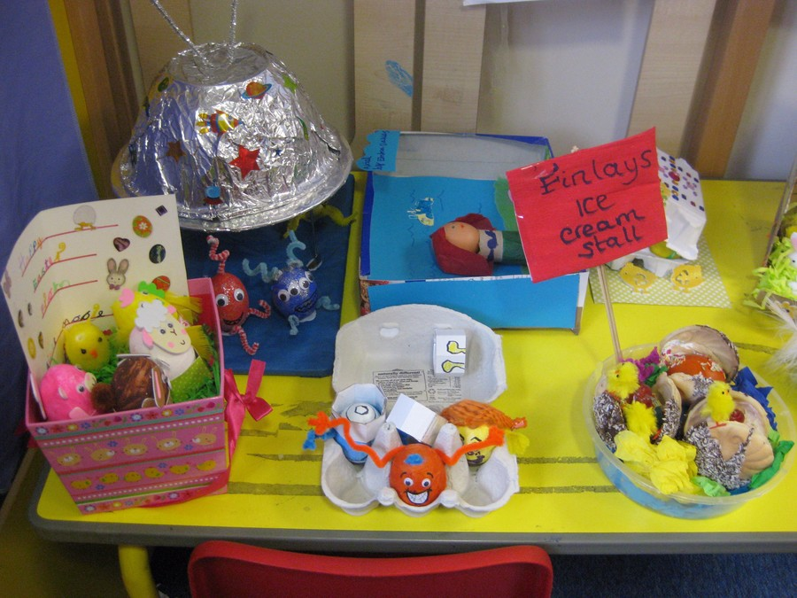 easter egg decorating competition ideas warley town school easter decorate the egg competition 12139