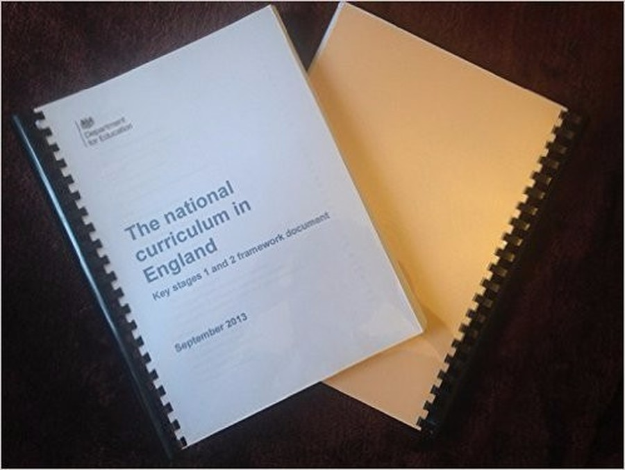 The National Curriculum Key Stage 1 and 2 framework document