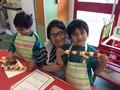 Ayush, Anish & Mum
