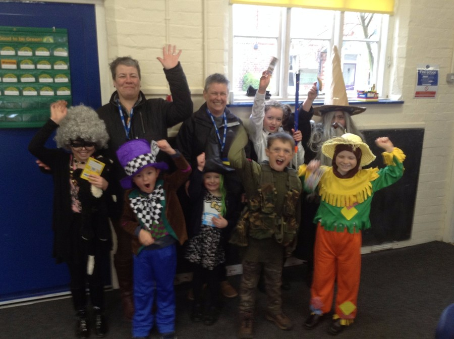 World Book Day Winners 2016