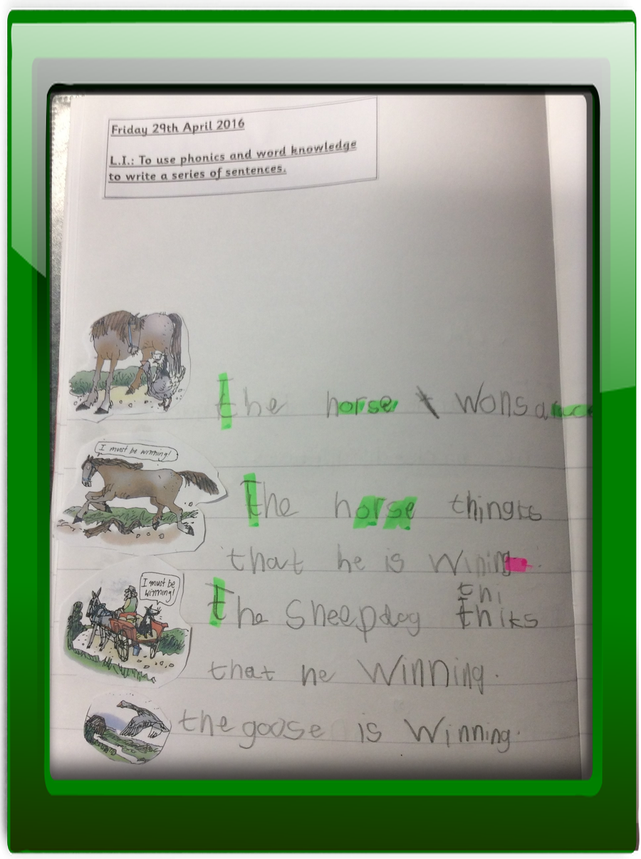 Year 1 Writing