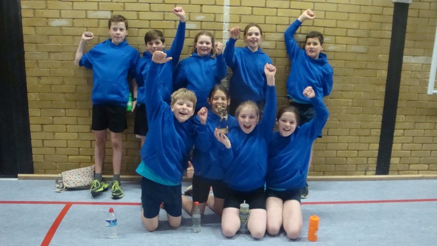 Hi-5 Small Schools Champions  - April 2016