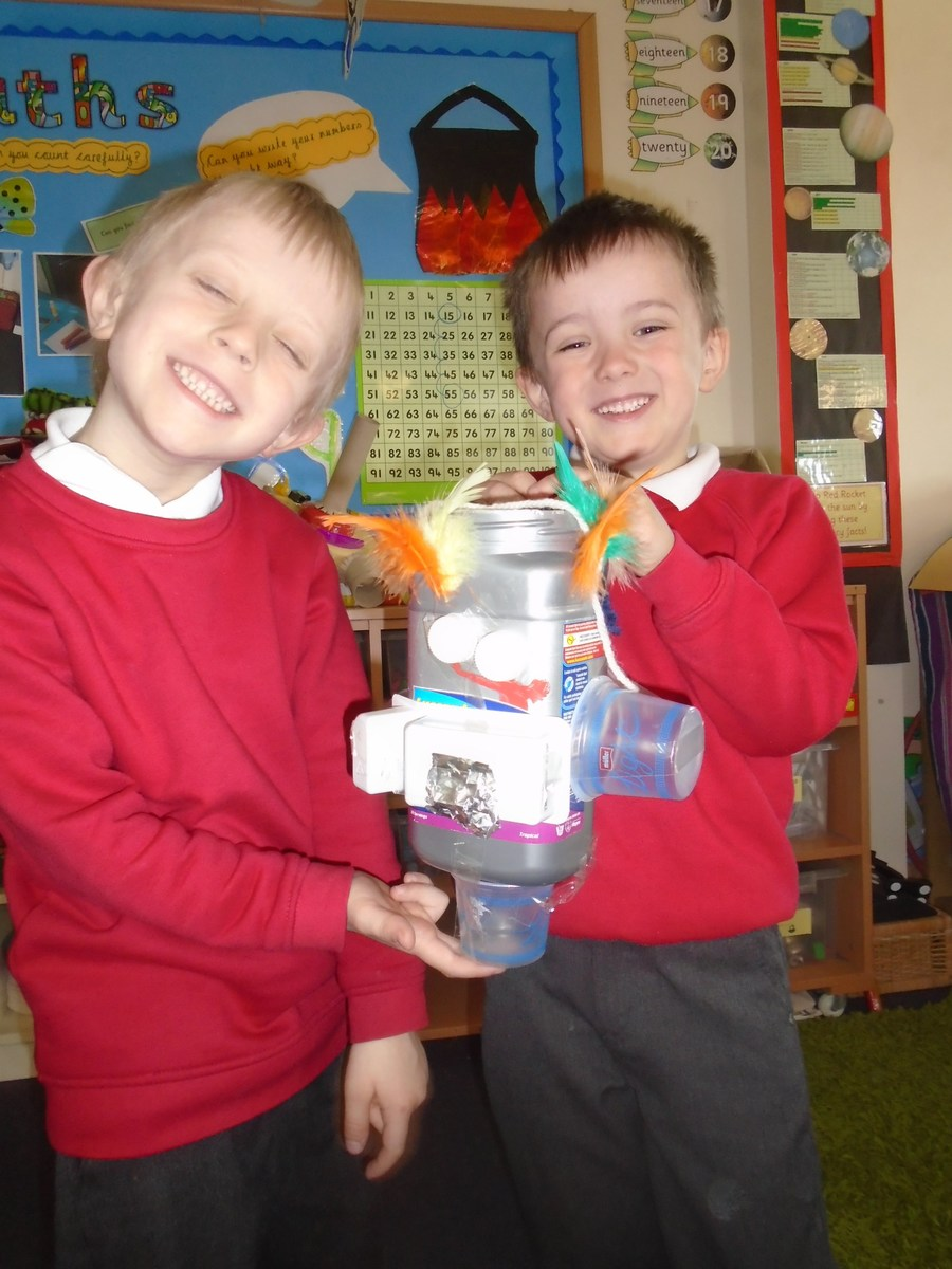 Building robots - inspired by artist Michelle Reader