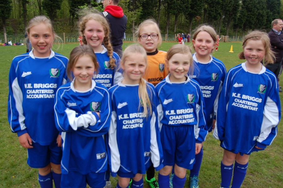 Year 4/5 Girls' Football Squad