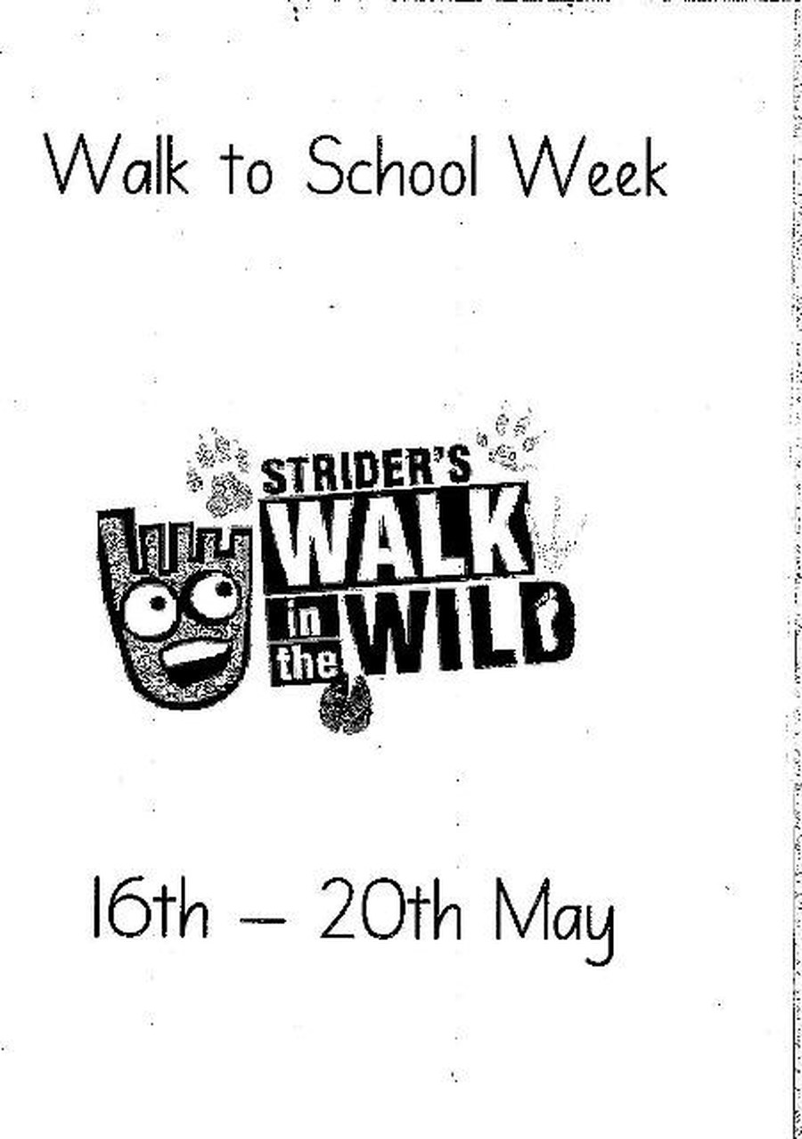 Walk to School Week May 2016