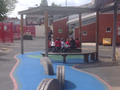 Panthers learning in the sun