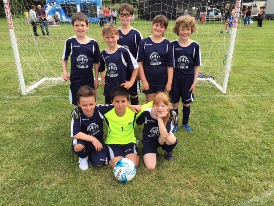 Year 3/4 Football Team - Small Schools Tournament, May 2016