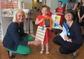 Grace wins local Easter colouring competion